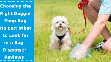 dog poop bag holder review